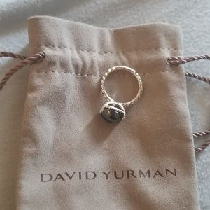David Yurman Oval Hematite